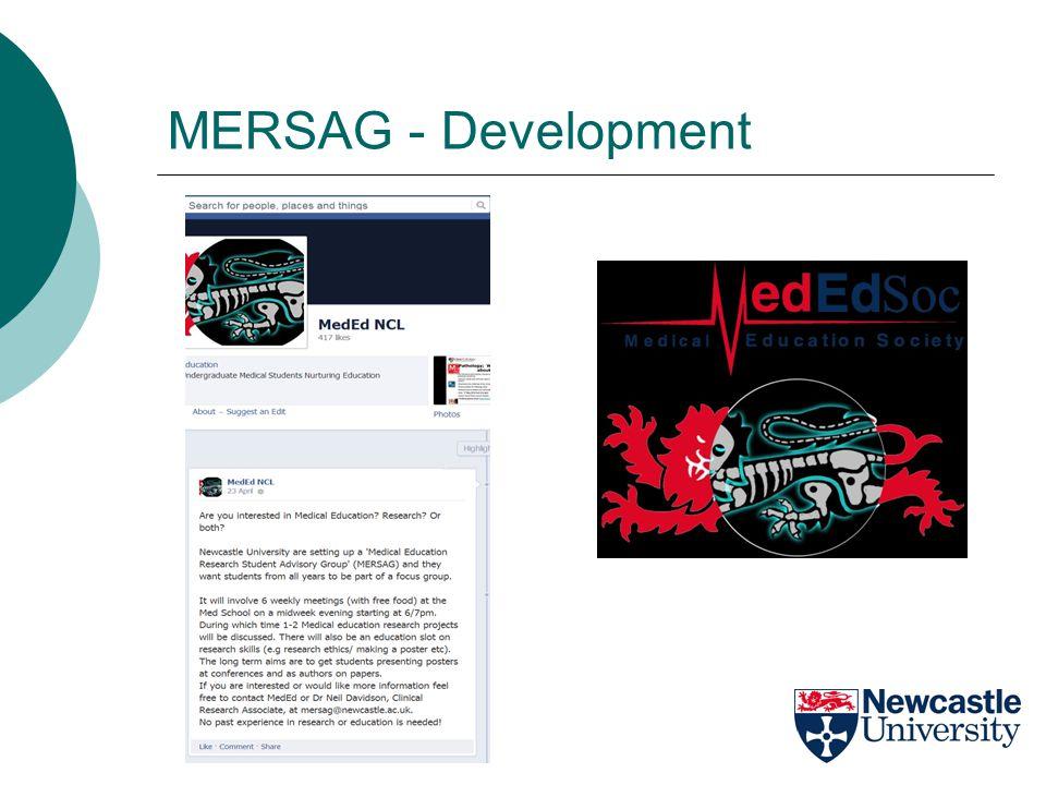 MERSAG - Development
