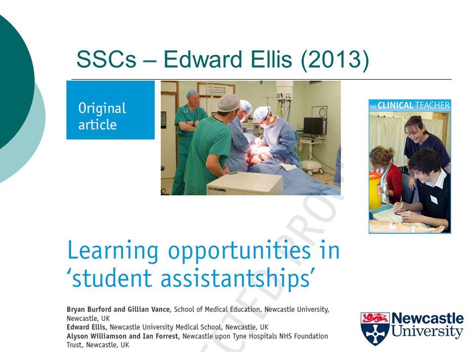 SSCs – Edward Ellis (2013)