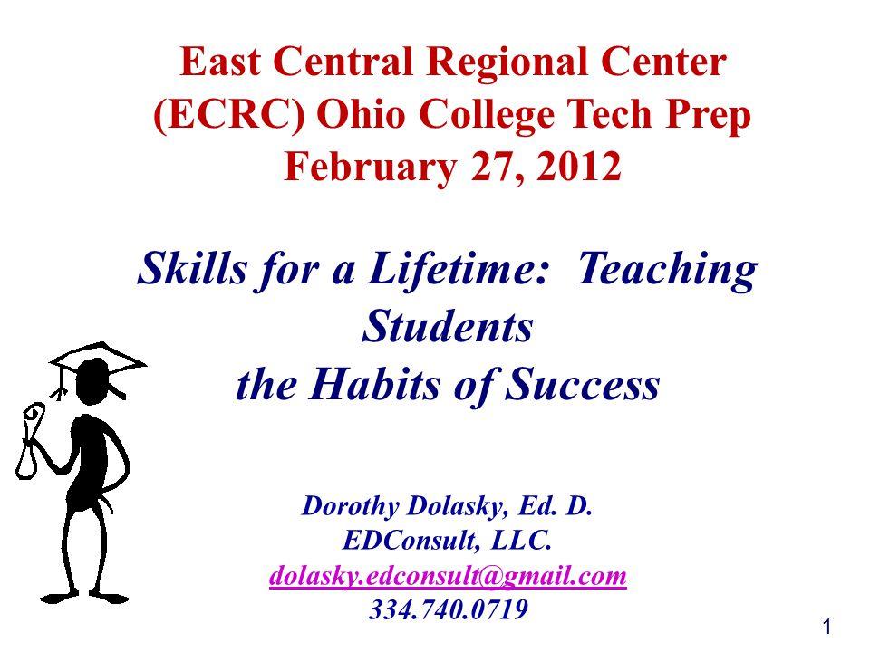 Dorothy Dolasky, Ed. D. EDConsult, LLC.