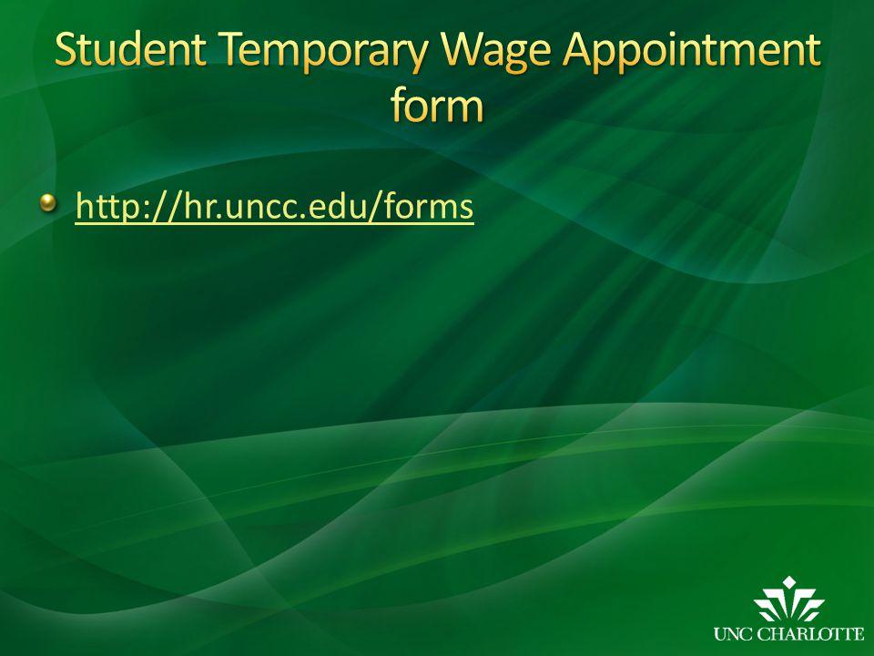 http://hr.uncc.edu/forms