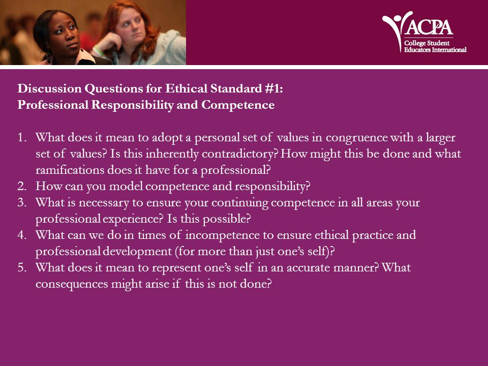 Ethical Standard #2: Student Learning and Development