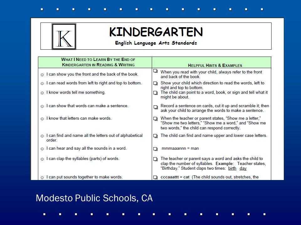 Modesto Public Schools, CA