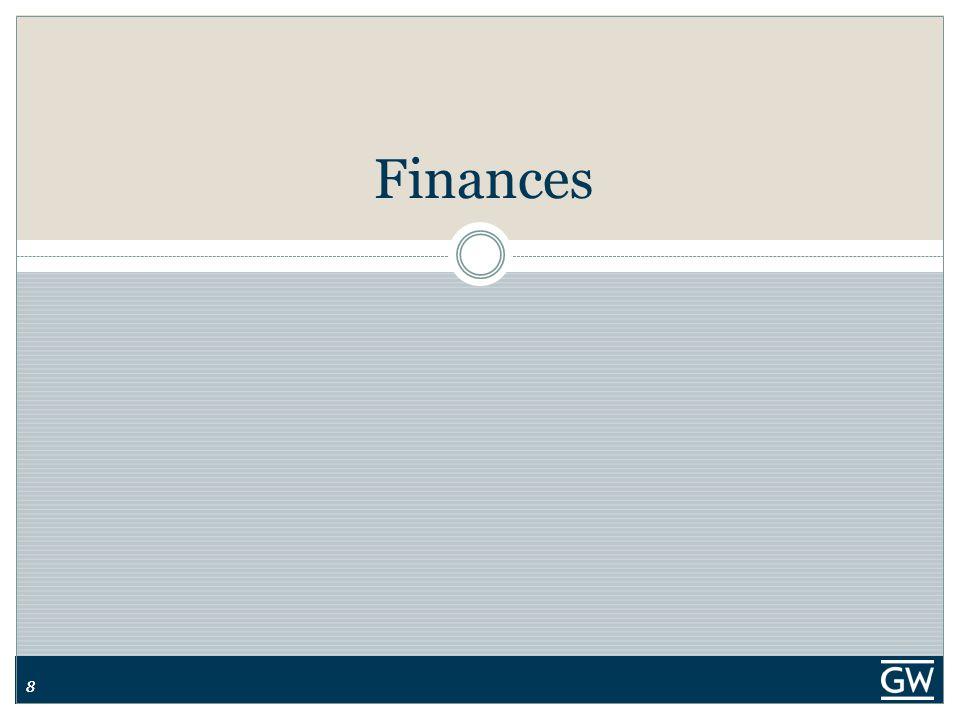 88 Finances