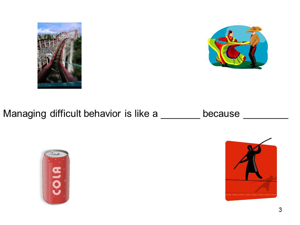 4 Managing behavior is all about what we say and do! (Colvin, 2004) 4