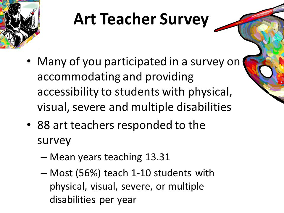 Art Built into our classrooms are ways our students can participate in a community of diverse learners The art classroom is a conduit to experiencing life long learning in ways that are creative and encourage problem finding and solving If this is our task as art teachers, then how do we provide this for all of our learners.