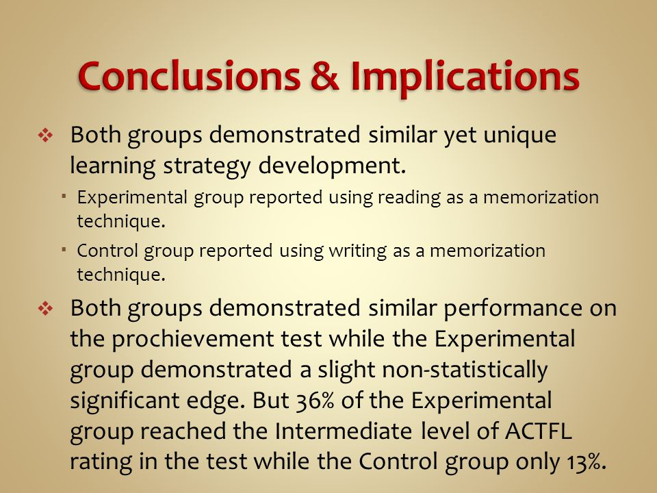  Both groups demonstrated similar yet unique learning strategy development.