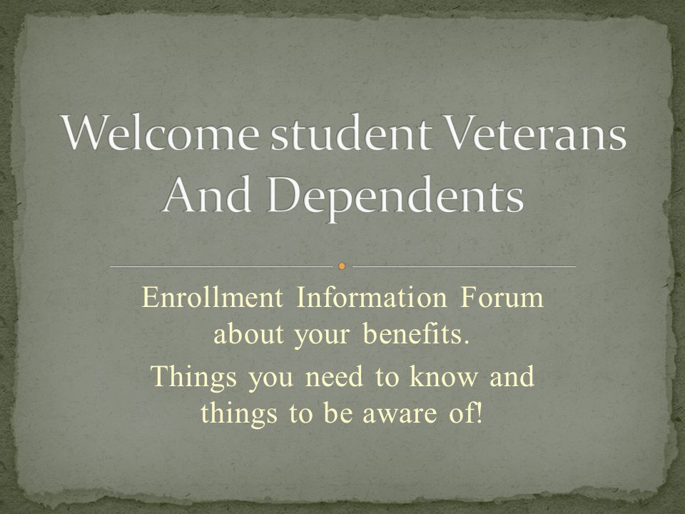 Enrollment Information Forum about your benefits.