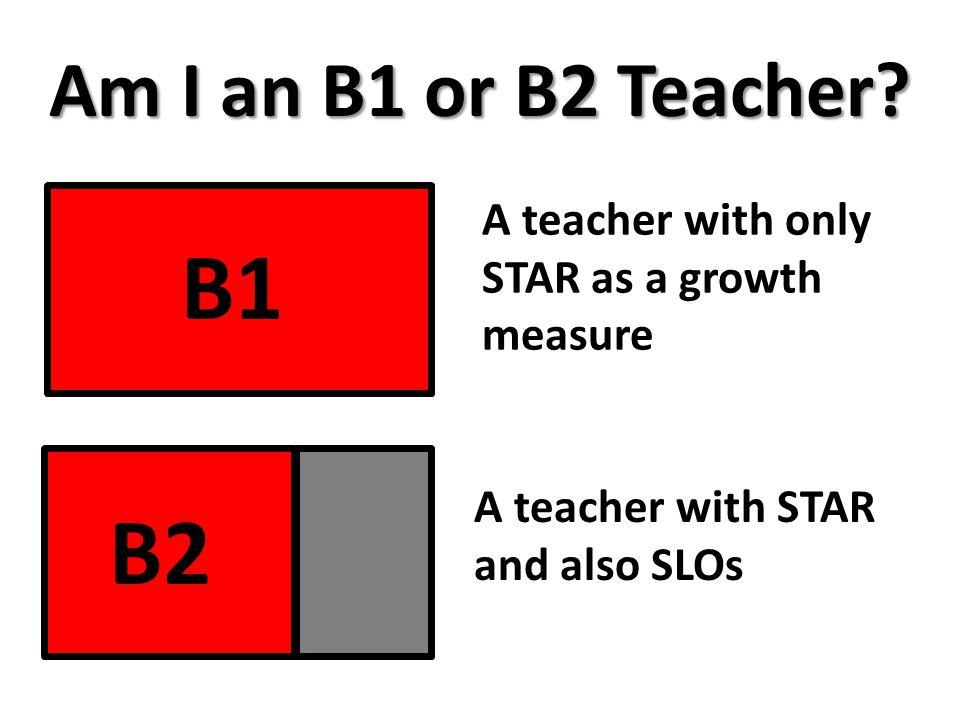 Am I an B1 or B2 Teacher.