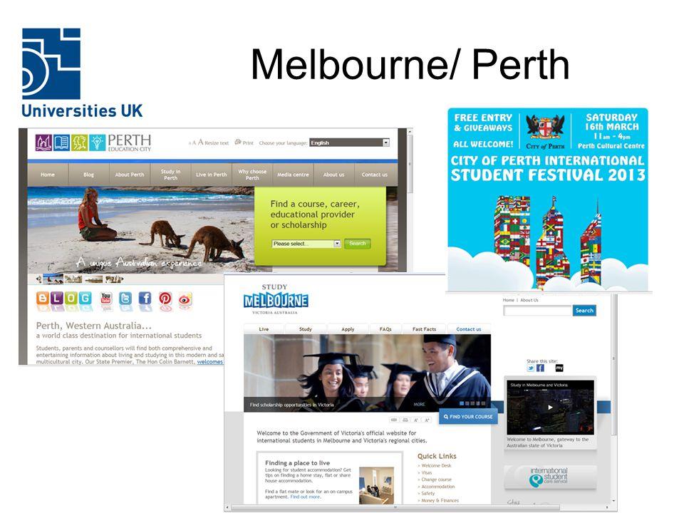 Melbourne/ Perth