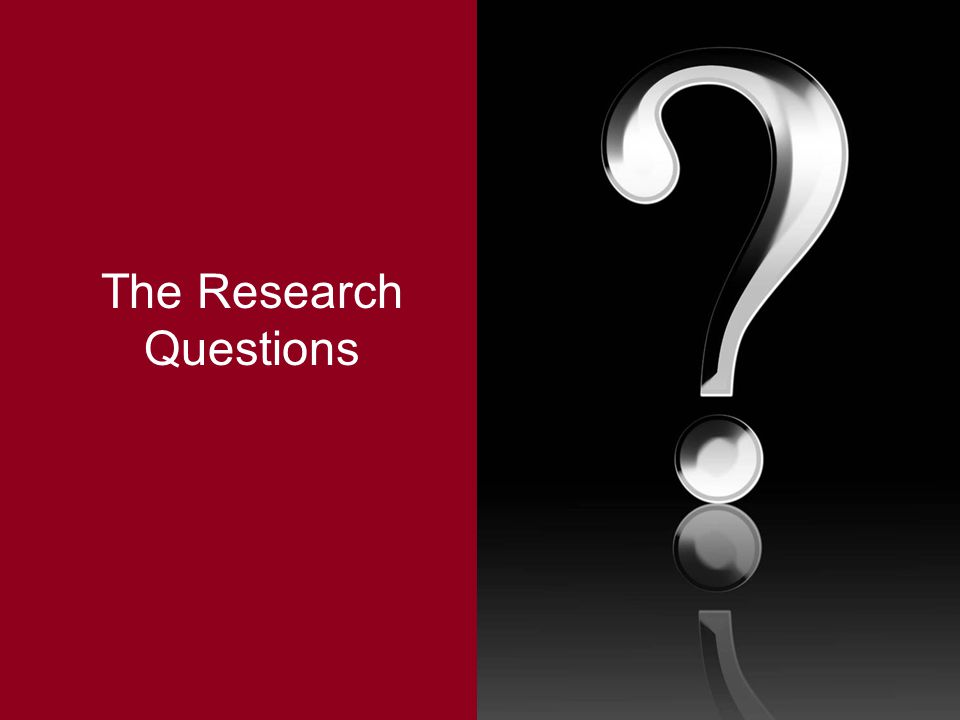 The Research Questions
