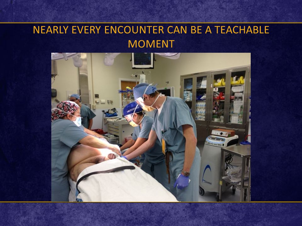 NEARLY EVERY ENCOUNTER CAN BE A TEACHABLE MOMENT