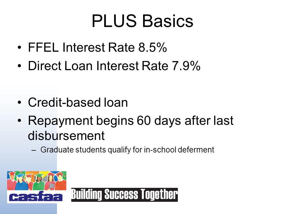 Federal PLUS Loans