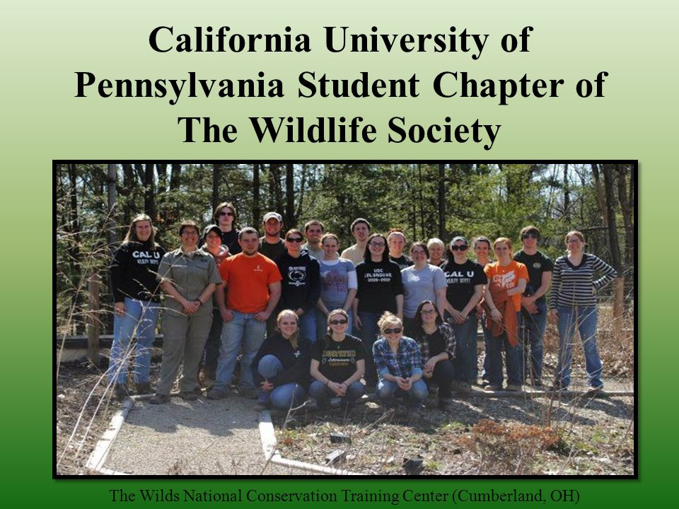 Student Chapter founded on December 30, 1996 California, Pennsylvania (est. 1849)