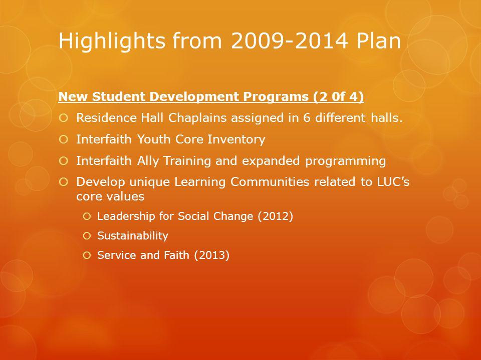 Concluding Remarks, Next Steps  DSD Website: http://www.luc.edu/studentdevelopment/about/dsdstrat egicplan2015-2020/  Initial DSD draft to Dr.