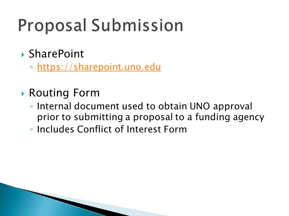  ORSP will negotiate the contract and obtain required signatures ◦ Enter the award in PeopleSoft ◦ Send a request to Sponsored Programs Accounting (SPA) to activate your award and issue a speed key  SPA emails UNO-NOGA - opportunity to check information ◦ Must sign and return to SPA ◦ NOGA has ORSP and SPA contacts