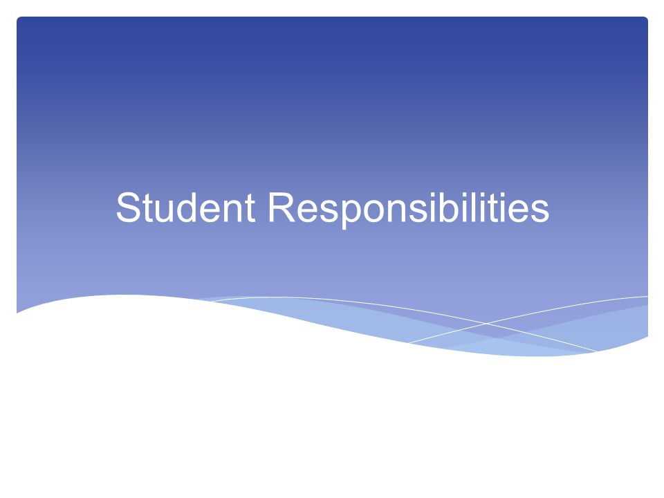 RESPONSIBLITY FOR MAINTAINING ACADEMIC INTEGRITY  Academic integrity is defined as exhibiting honesty in all academic exercise and assignments.