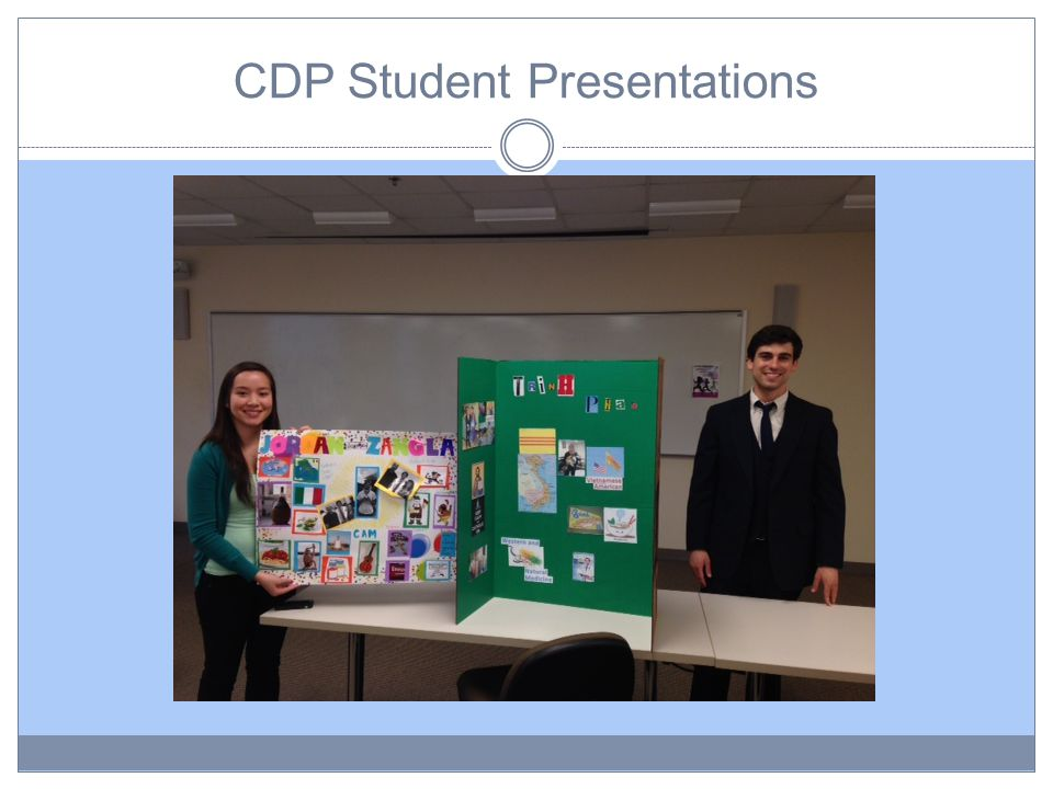CDP Student Presentations