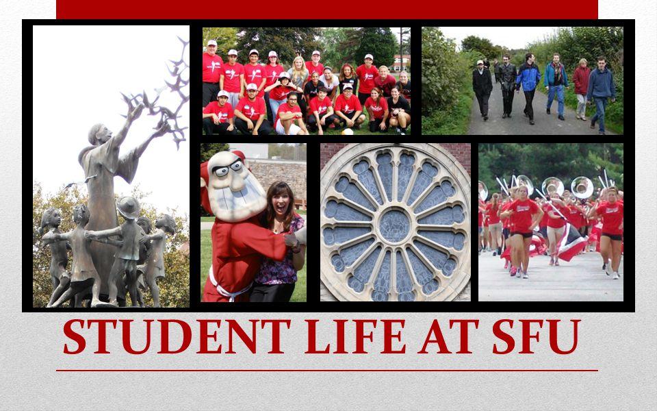STUDENT LIFE AT SFU