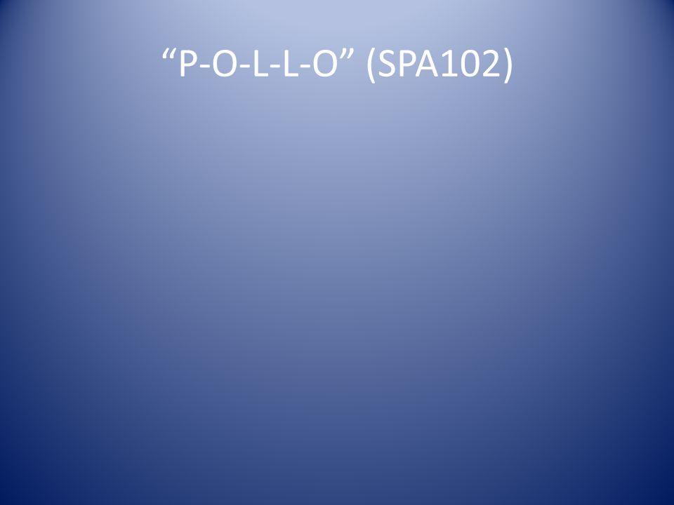 P-O-L-L-O (SPA102)