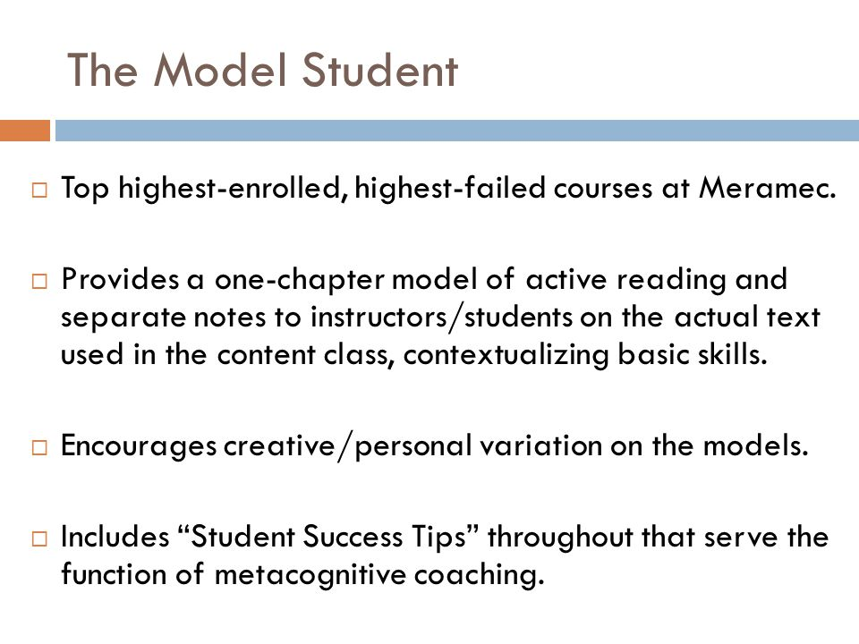 The Model Student  Top highest-enrolled, highest-failed courses at Meramec.