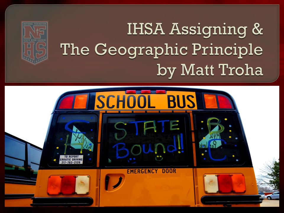 At some point this year… a coach, athletic director, athlete, parent or fan will ask you about the IHSA's postseason assignments.