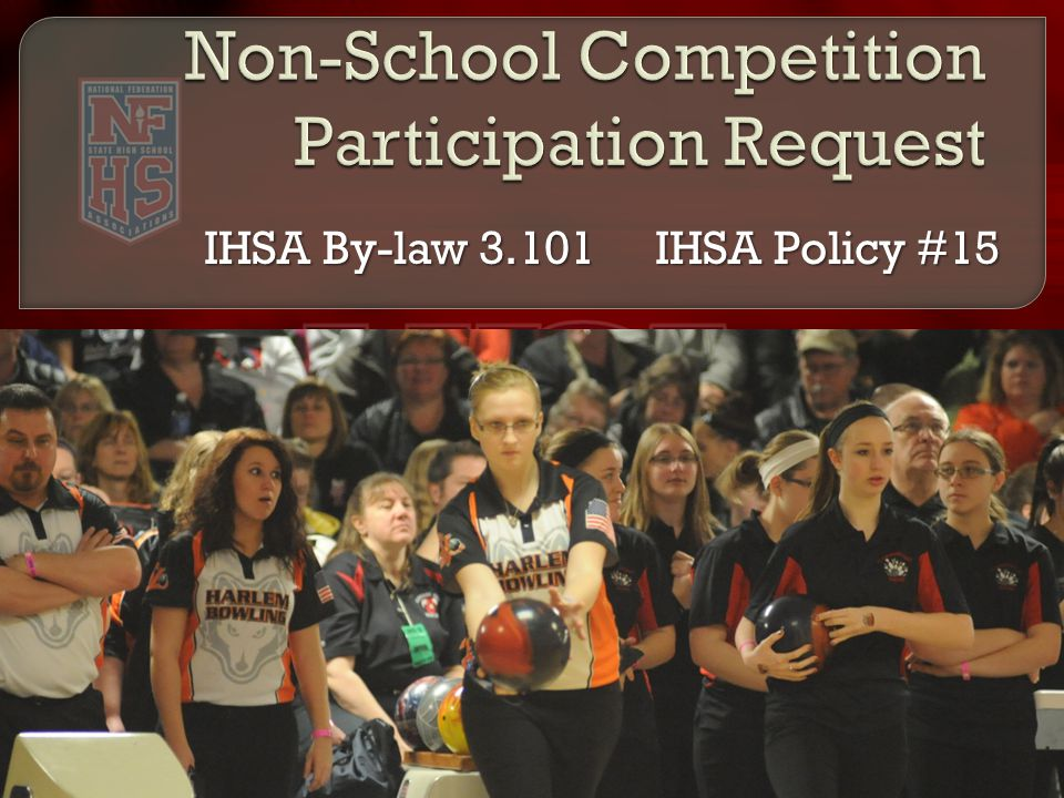 IHSA By-law IHSA Policy #15