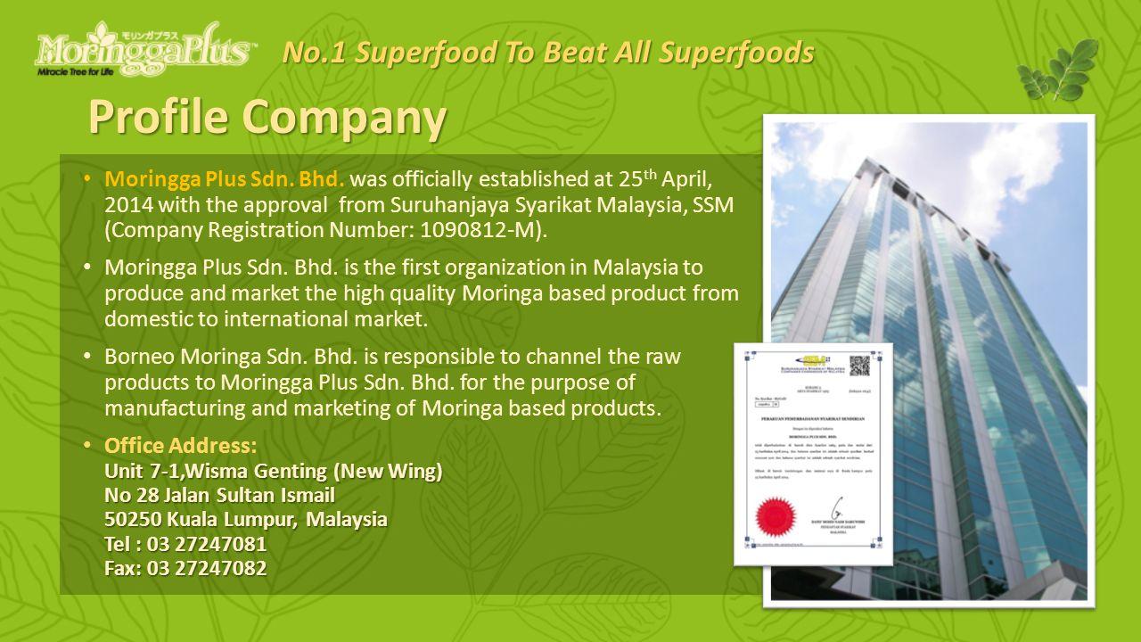 Profile Company Moringga Plus Sdn. Bhd.