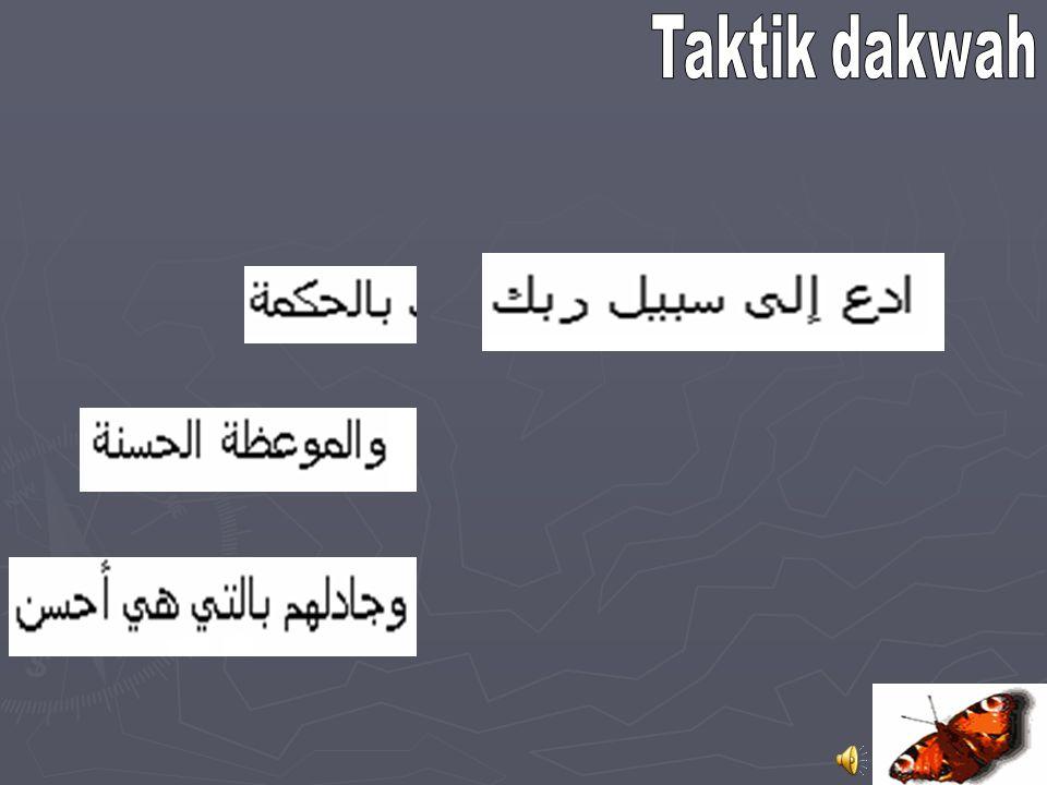 Ghoyah ad-Dakwah Prinsip Dakwah Berharap hanya pahala Allah (Huud:29) Bermaksud berbuat ishlah (Huud:88)