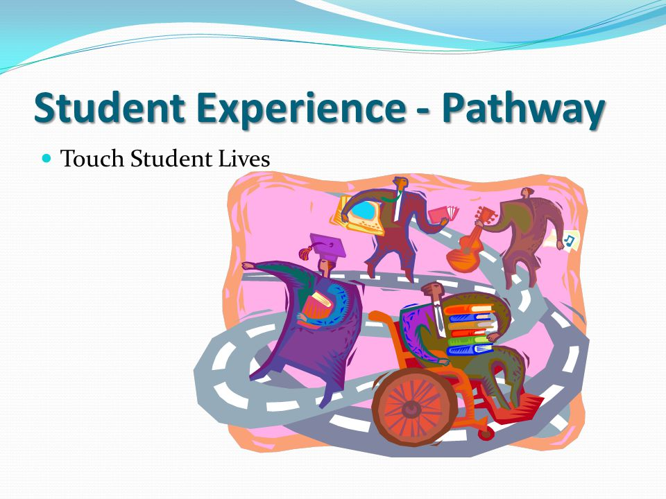 Student Experience - Pathway Touch Student Lives