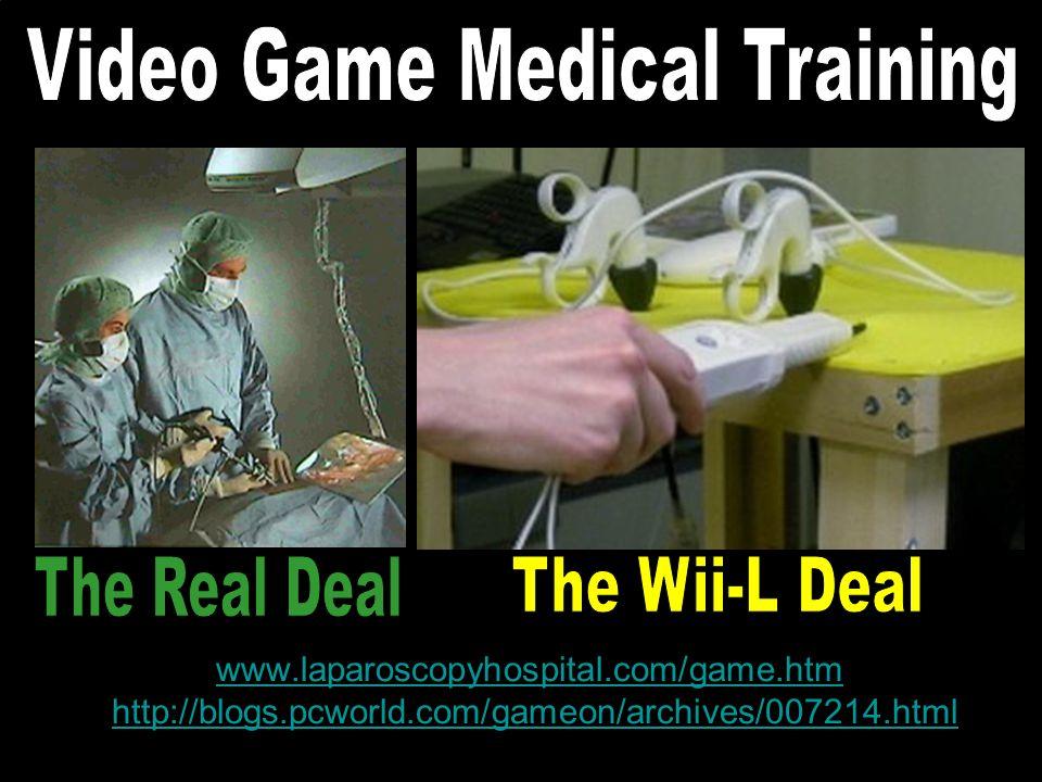 www.laparoscopyhospital.com/game.htm www.laparoscopyhospital.com/game.htm http://blogs.pcworld.com/gameon/archives/007214.htmlhttp://blogs.pcworld.com/gameon/archives/007214.html