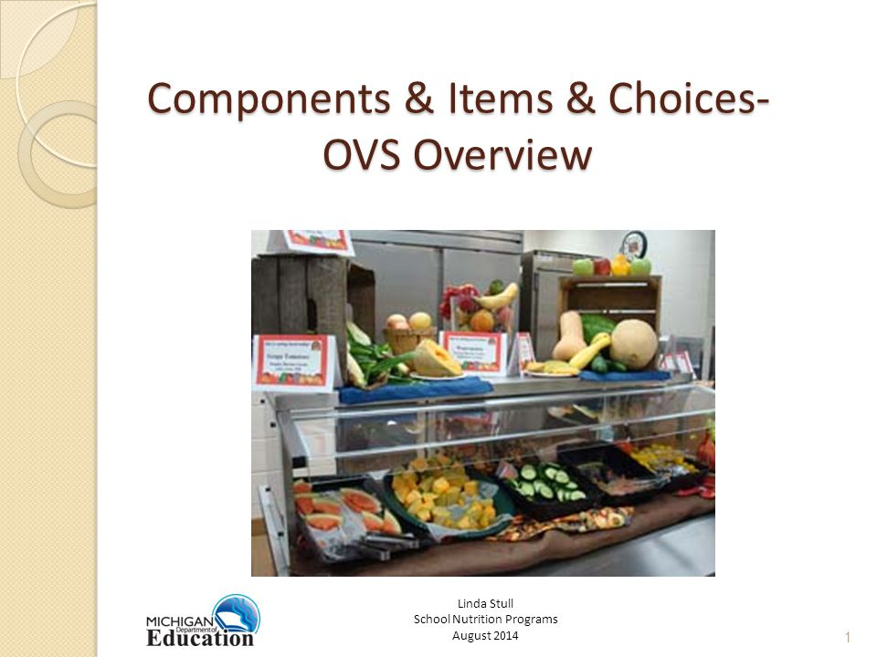 OVS Reimbursable Lunches If a student does not select at least three of the food components, then the lunch is not reimbursable and the student must pay according to a la carte pricing.