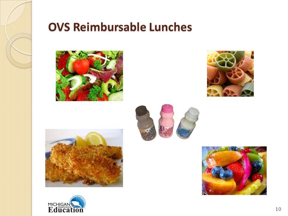 OVS Reimbursable Lunches 10