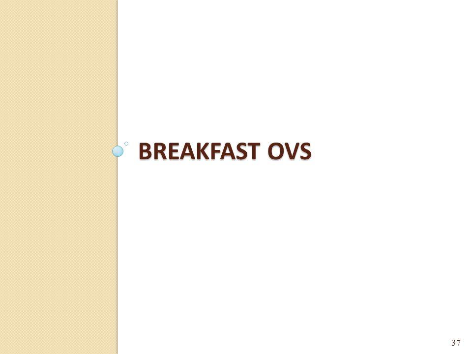 BREAKFAST OVS 37