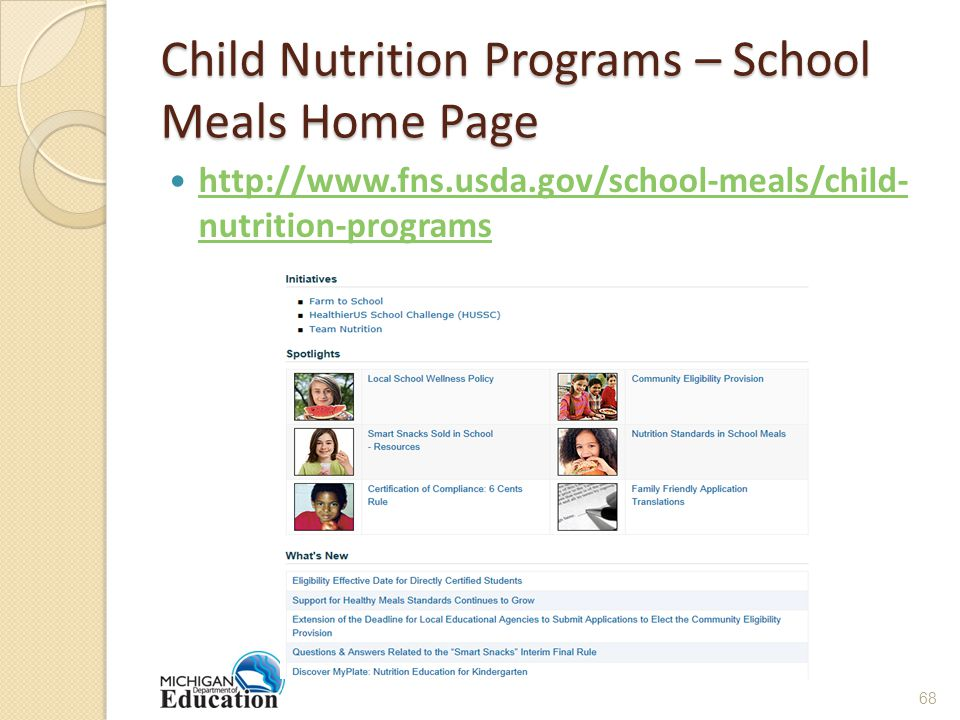Child Nutrition Programs – School Meals Home Page   nutrition-programs   nutrition-programs 68
