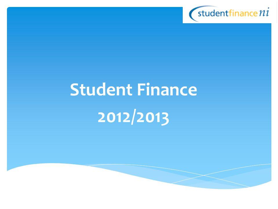 Student Finance 2012/2013