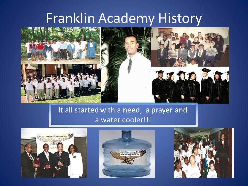 Franklin Academy Recognition  Ms. Margaret Franklin and Former Governor Charlie Christ!!.