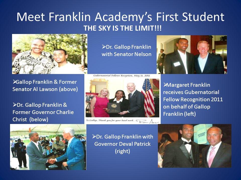 Meet Franklin Academy's First Student  Dr. Gallop P.