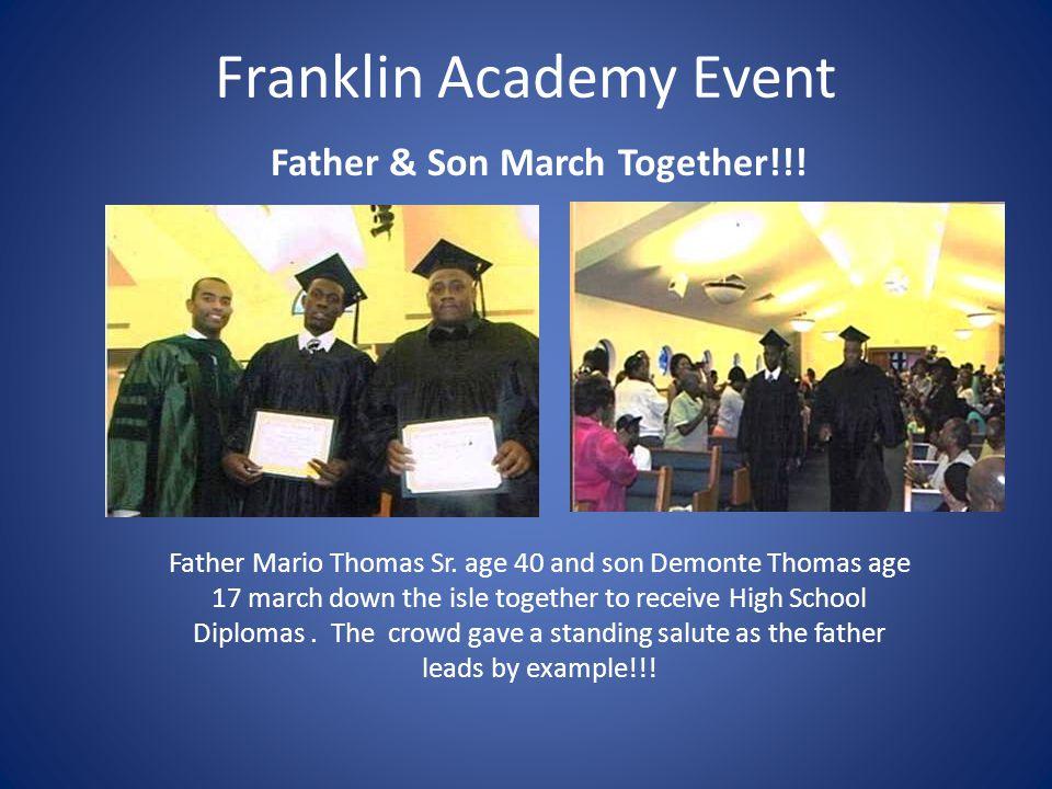 Franklin Academy Event Grad Ceremony 2012-2013  Ms.