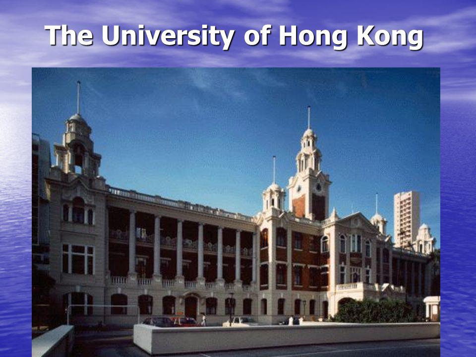 HKU Times Higher Education Rankings 2010-11 HKU ranked no.