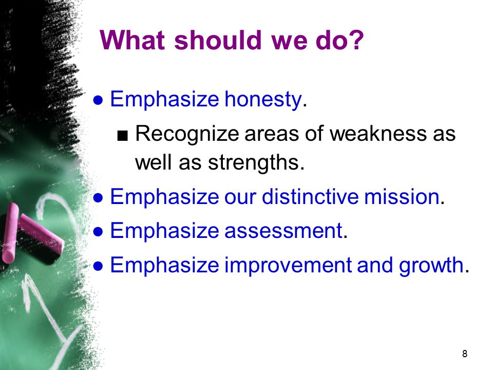 9 What should we do.●Avoid compliance thinking. ■How are we fulfilling the criteria.