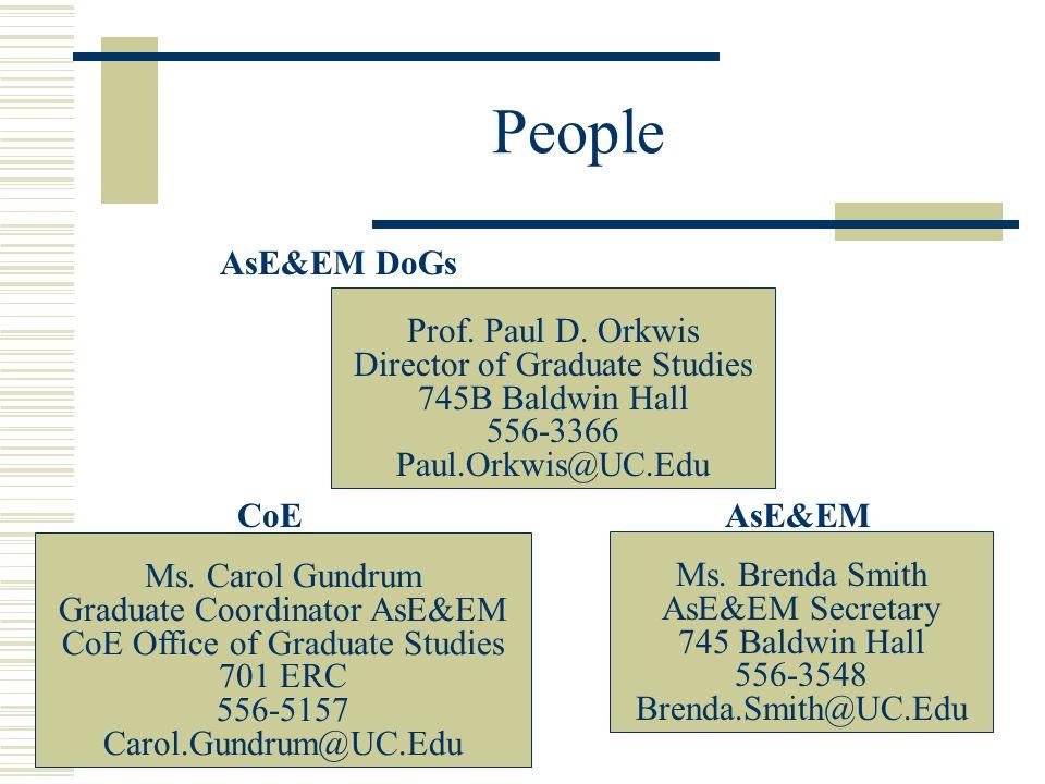 People Prof. Paul D.