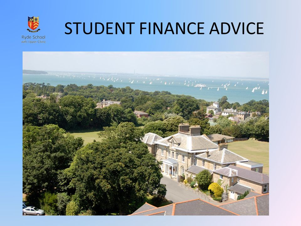 STUDENT FINANCE ADVICE