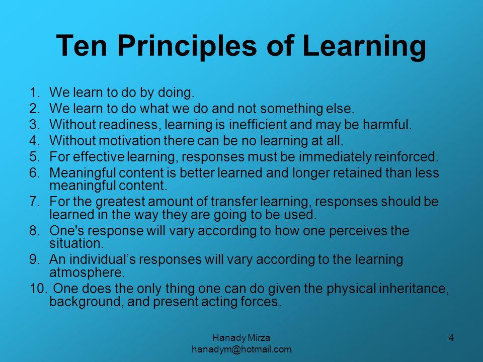 Hanady Mirza hanadym@hotmail.com 25 Neuroscience & Lesson Planning FROM BRAIN SCAN TO LESSON PLAN http://www.apa.org/monitor/mar00/brainscan.html