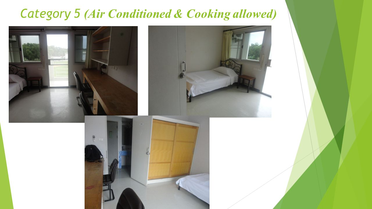 Category 5 (Air Conditioned & Cooking allowed)