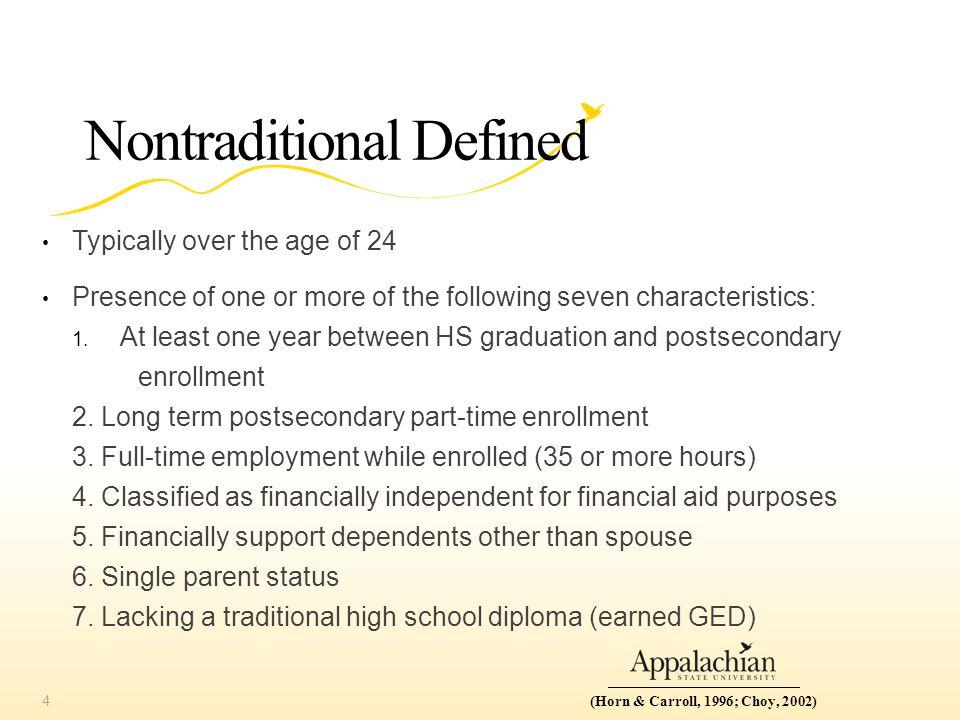 Nontraditional Continuum 5(Cash, 2013)