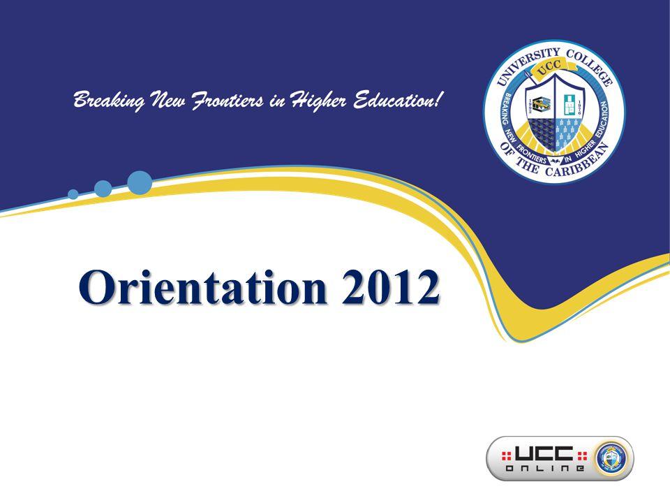 Orientation 2012