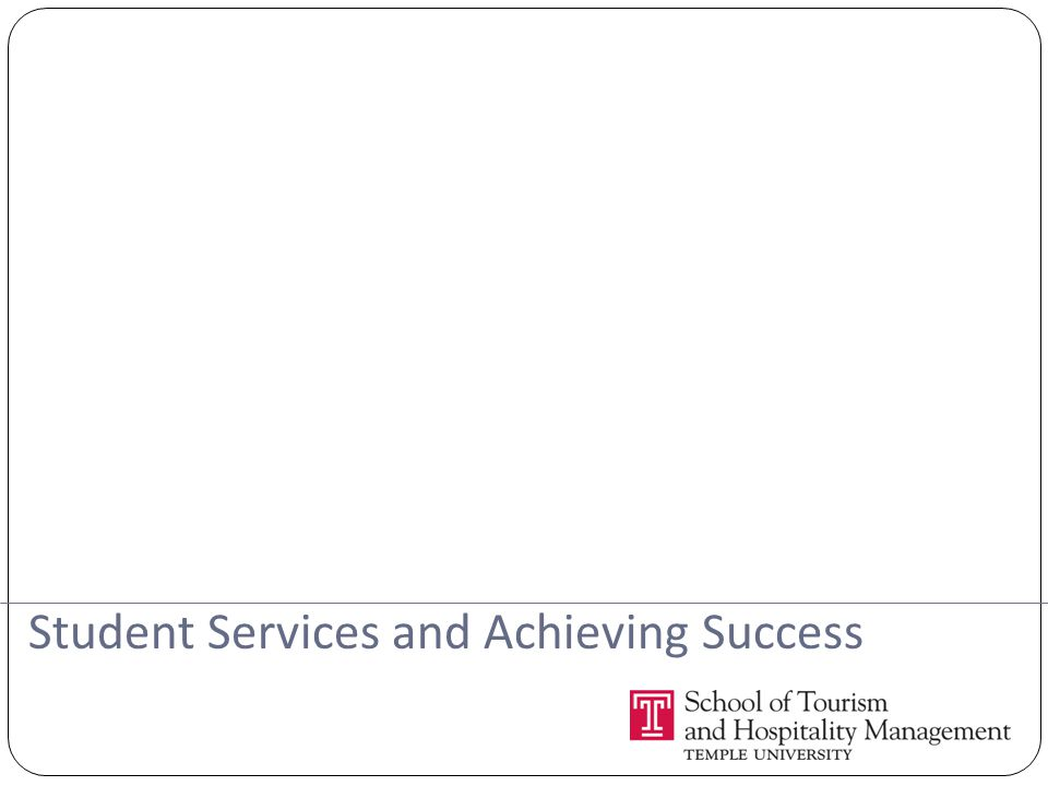 Student Services and Achieving Success