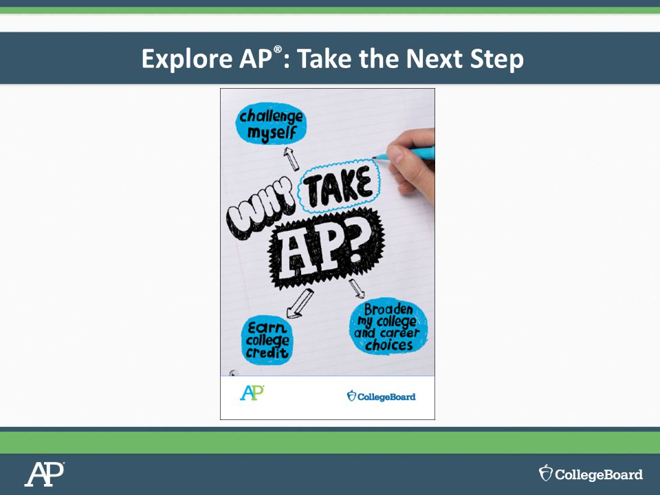 Explore AP ® : Take the Next Step
