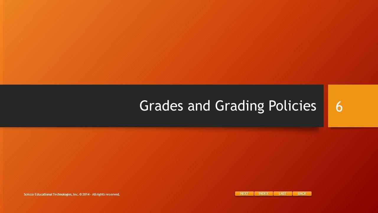 NEXT INDEX LAST BACK Bonus Slides Scricco Educational Technologies, Inc.