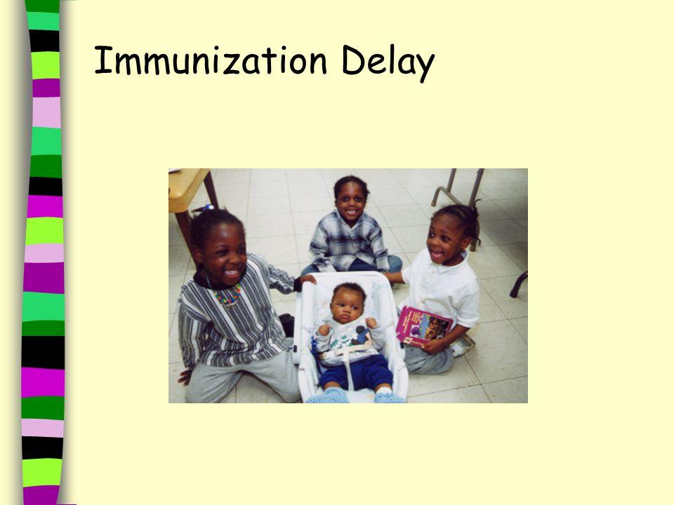 Immunization Delay